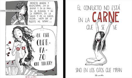 Lola Vendetta Raquel Riba Rossy Ilustradoras Feministas