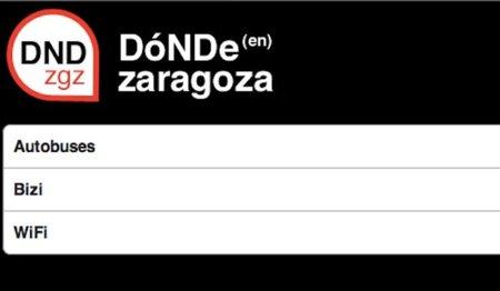 DNDzgz, toda la información de Zaragoza reunida en tu iPhone e iPod touch