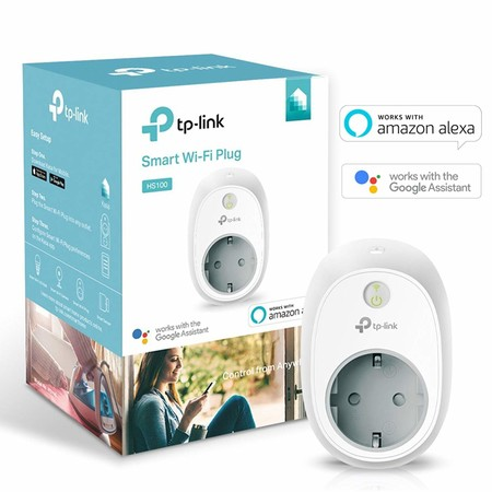 Prime Day: tu hogar más inteligente por sólo 19,94 euros con este enchufe TP-Link HS100 con WiFi