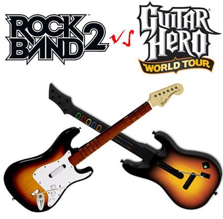 Fechas europeas para 'Guitar Hero World Tour' y 'Rock Band 2'