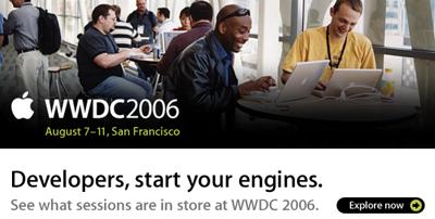 El contenido de la WWDC 2006 ya está disponible