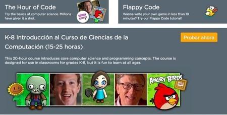 Code.org para que los peques puedan iniciarse en el aprendizaje de la programación