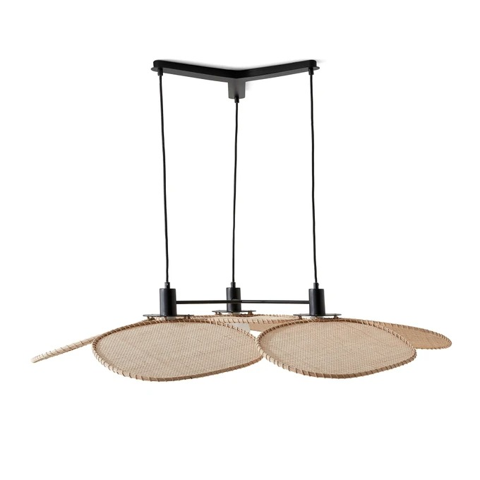 Lámpara de techo Canopée modelo grande, diseño de E. Gallina