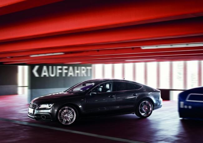 Aparcamiento pilotado Audi