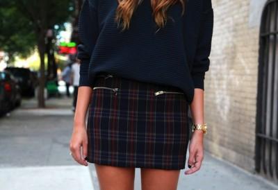 Duelo de cuadros: ¿falda o camisa? Tú eliges qué prenda es la estrella