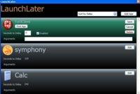 LaunchLater facilita la programación de tus aplicaciones en el inicio de Windows