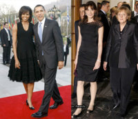 Little-black dress: ¿Michelle o Carla?