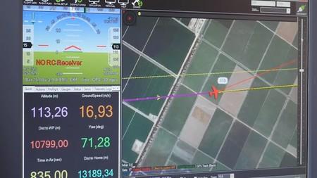 Vodafone demuestra cómo se puede geolocalizar y controlar un dron usando una red 4G