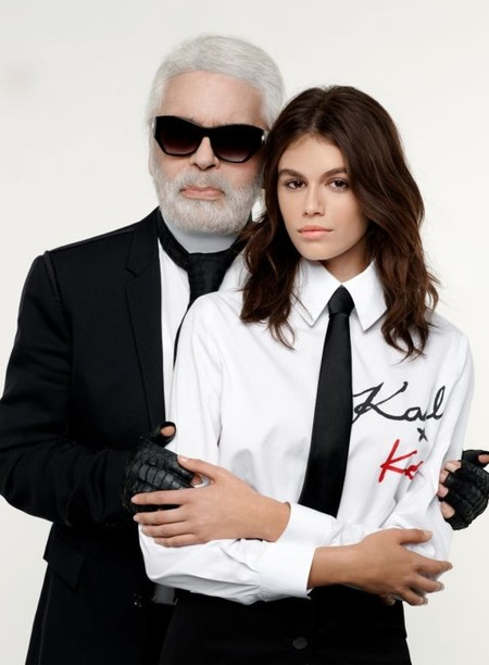 El chic parisino de Karl Lagerfeld se une al espíritu millennial de Kaia Gerber en una colección cápsula que ya casi está aquí