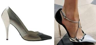 Clon de los stilettos de Balenciaga, en Mango