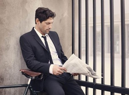 Tony Ward pone cara al cátalogo de Selected Homme Otoño-Invierno 2011/2012