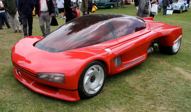 Peugeot Proxima 1986 lateral izquierdo