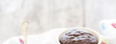 Cómo hacer mug cake de chocolate negro. Receta
