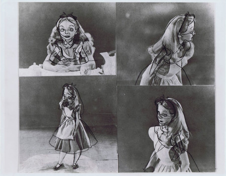Alice Wonderland Classical Animation Kathryn Beaumont 10