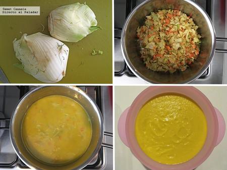 Sopa Hinojo Y Mandarina