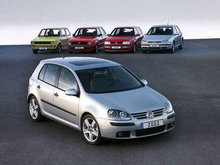 Volkswagen Golf I, VI y VI