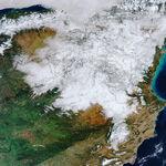 La gran nevada, vista desde el espacio en 11 espectaculares fotografías