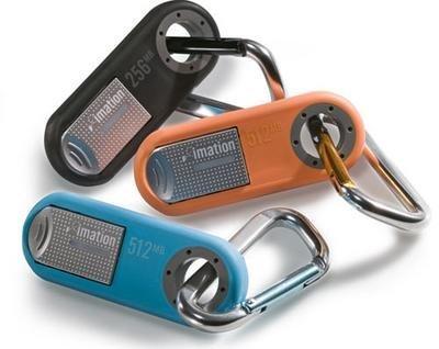 Imation presenta memorias USB con clip