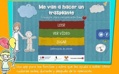 La App Transplante de médula para ayudar e informar a los peques y a sus familias