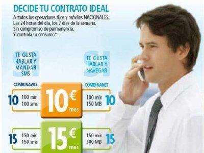 Eroski Móvil mejora sus tarifas Combina para hablar, enviar mensajes y navegar desde 10 euros