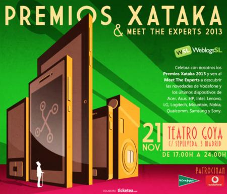 Tenemos 500 invitaciones a los Premios Xataka: anota la fecha para apuntarte