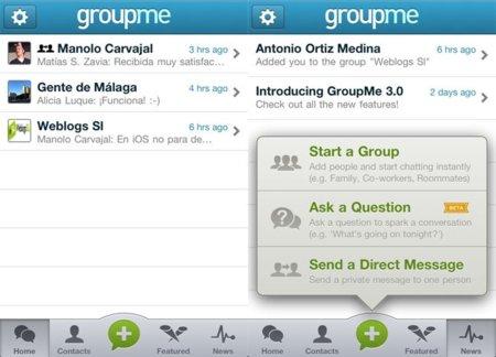 GroupMe ya funciona en España. ¿Hay vida más allá de Whatsapp?