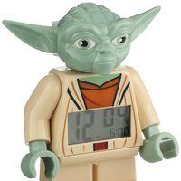 Que la fuerza te despierte tiene un precio: 19,95 euros con este reloj despertador Lego Star Wars