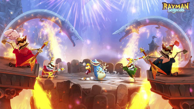 Rayman Legends online