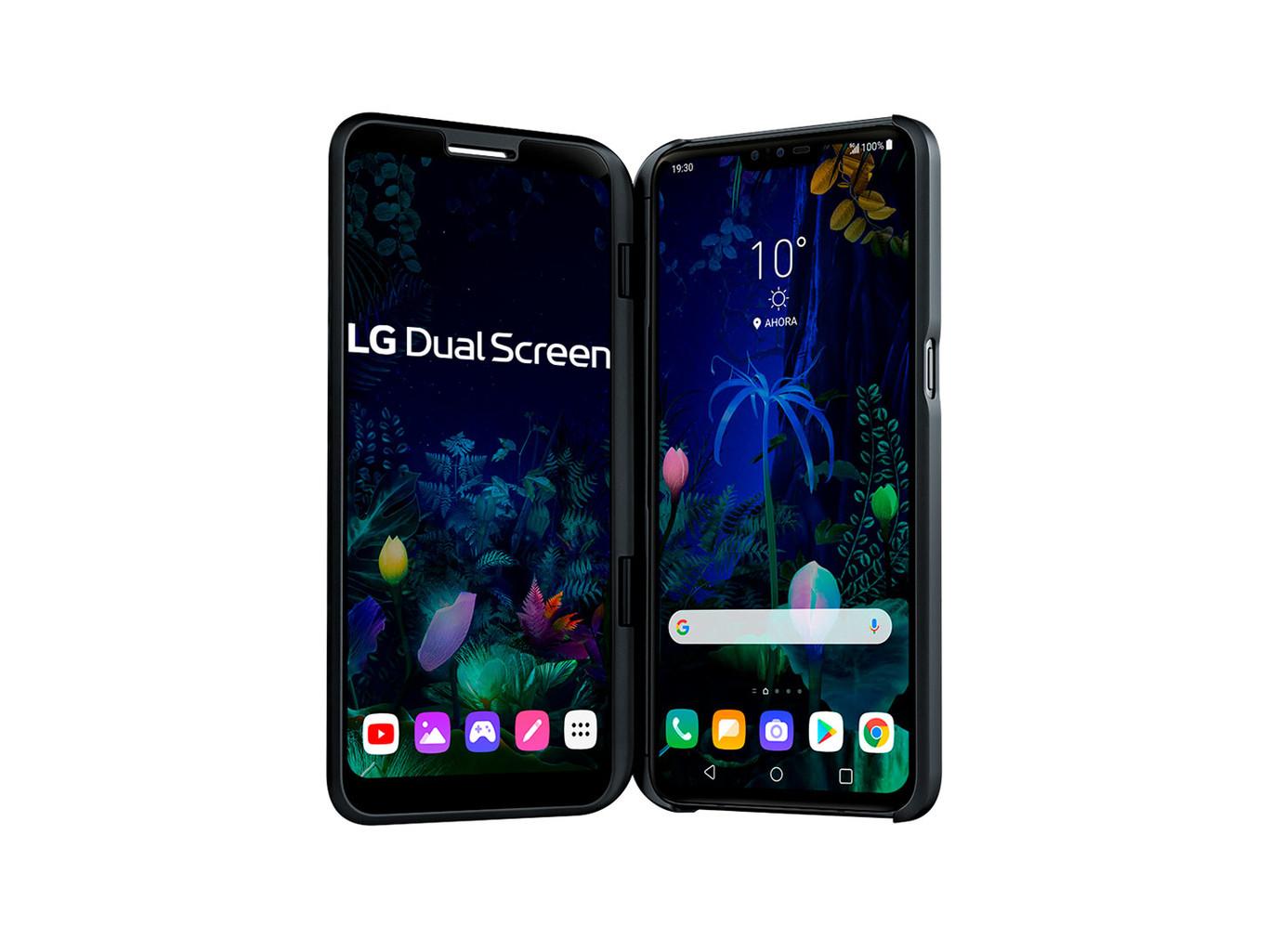 El LG V50 ThinQ 5G llega a España: éstos son el precio y la disponibilidad del móvil compatible con 5G y con doble pantalla