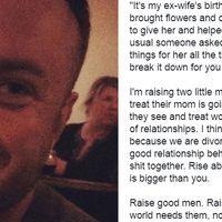 El mensaje de este padre a su exmujer se ha vuelto viral por el buen ejemplo de amor y respeto que representa