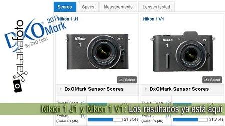 Nikon 1 J1 y Nikon 1 V1: Los resultados ya están aquí