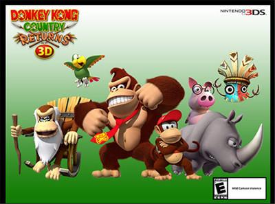 Si a tu peque le gustó Donkey Kong Country, ahora también está disponible la versión para consolas portátiles