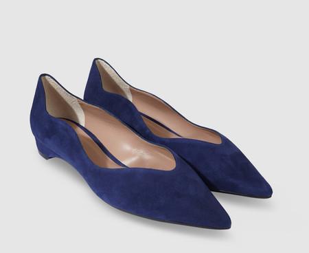 Bailarinas Planas Azules