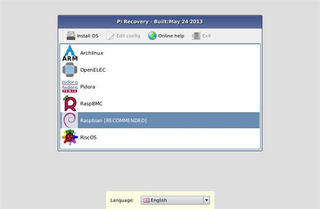 NOOBS, instalación fácil de distribuciones Linux en las Raspberry Pi