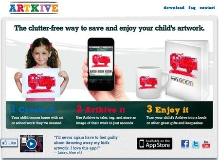 Guarda todos los dibujos que hagan tus hijos con la aplicación Artkive
