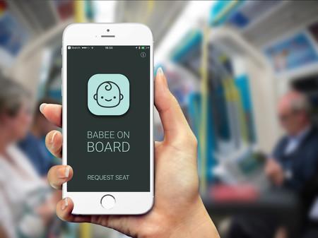 Porque parecen invisibles: Babee on Board te avisa si una embarazada necesita asiento