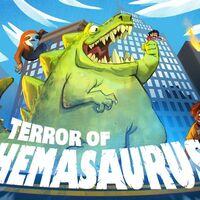Así es Terror of Hemasaurus, un sucesor espiritual del clásico Rampage con unos monstruos de lo más bestias con un toque cómico