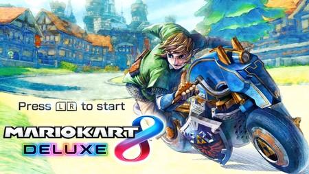Mario Kart 8 Deluxe: todas las pantallas de título alternativas aquí y ahora