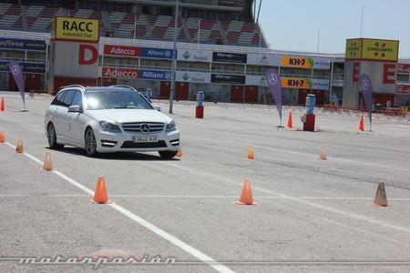 Curso conducción Mercedes