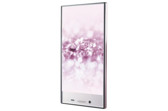 Aquos Crystal2 Pink Naname