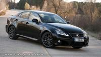 Lexus IS F, prueba (exterior, interior y equipamiento)