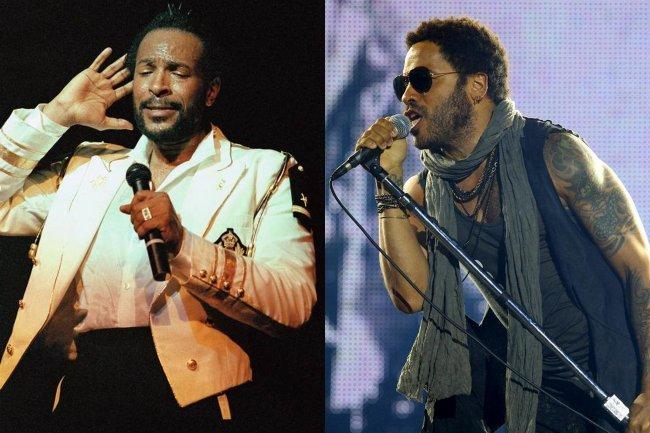 Marvin Gaye y Lenny Kravitz