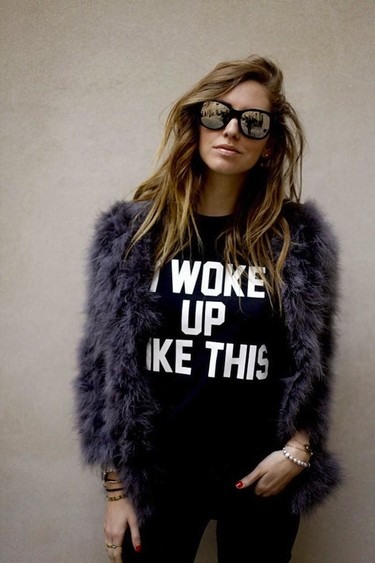 I woke up like this... Prendas (y objetos) necesarios para el primer día del año