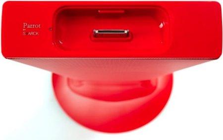Zikmu en rojo pasión, la nueva versión de los altavoces inalámbricos de Parrot