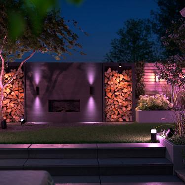 Philips Hue amplia gama de iluminación inteligente para exteriores, con nuevos modelos y renovando su app