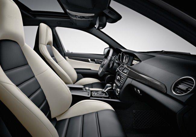 C63 AMG Tapiceria Bitono