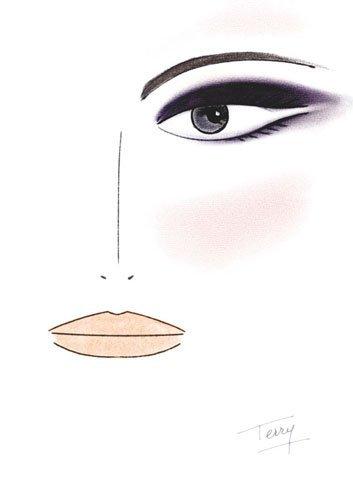 By Terry, el look de maquillaje Violet Excess de Terry de Gunzburg. Otoño/Invierno 2011-2012