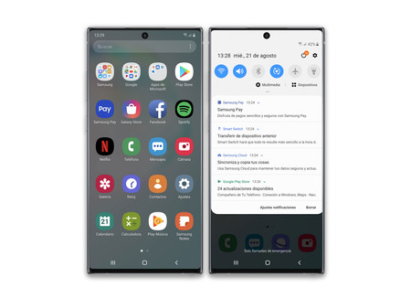 Samsung Galaxy Note 10 Plus Apps Fabrica