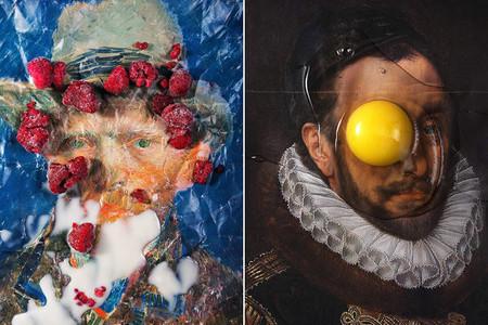 ¿Se puede unir pintura clásica y comida? Que se lo digan a Zeren Badar