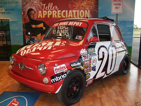 1966 Fiat 500 Giannini NASCAR Style